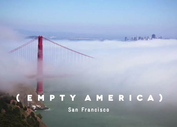 Empty America San Francisco
