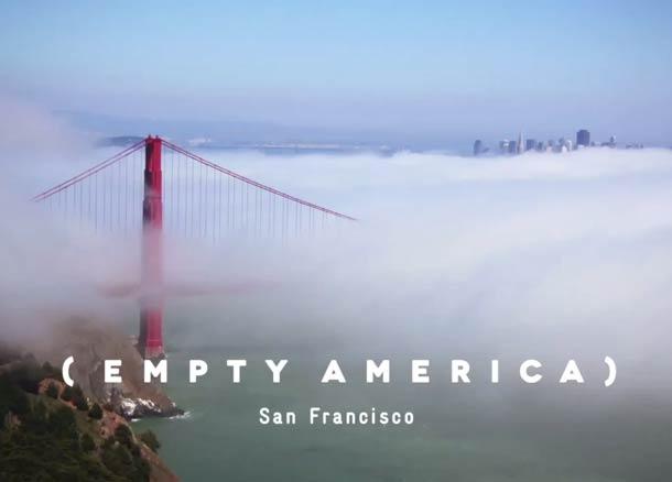 Empty America San Francisco