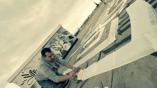 Skyfall Urban Calligraphy