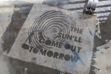 Graffiti sous la pluie : NeverWet Graffiti