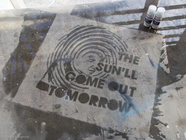 Never Wet Graffiti