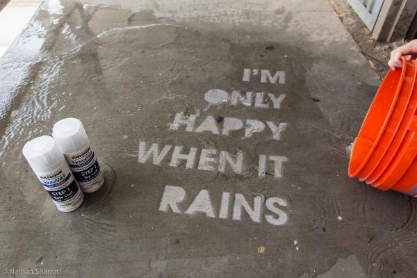 Never Wet Graffiti