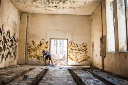 Un timelapse de graffiti : Infinite