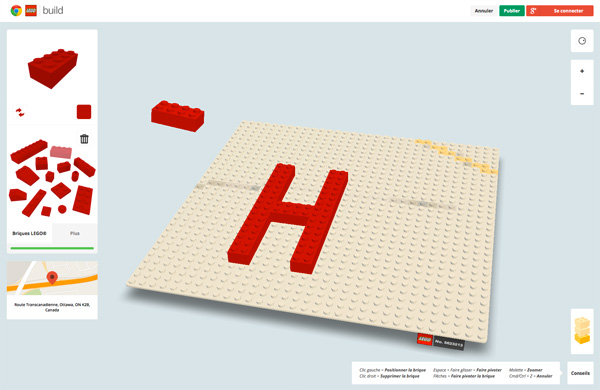 Build With Chrome Lego