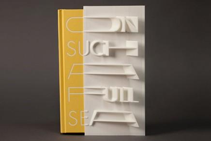 Une couverture de livre imprimée en 3D