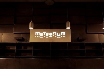L'identité graphique de la nouvelle salle de spectacle Le Metronum à Toulouse