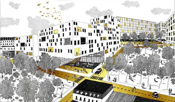 Diane Berge Illustratruce, architecte