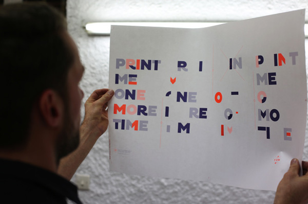Print Me One More Time