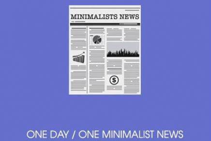Minimalist News, l'info du jour résumé en illustration
