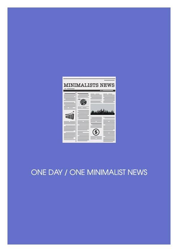 Minimalist News