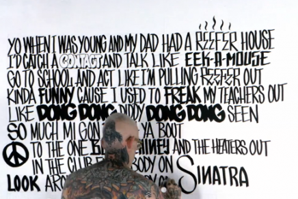 Le nouveau clip de Major Lazer « Aerosol Can » feat. Pharrell Williams est typographique !