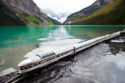 Traverser le Canada en train miniature avec le photographe Jeff Friesen