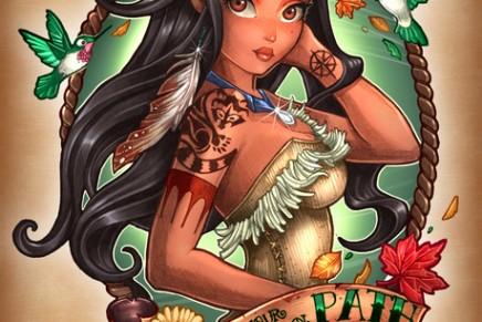 Les illustrations façon «old school tatoo» de Tim Shumate
