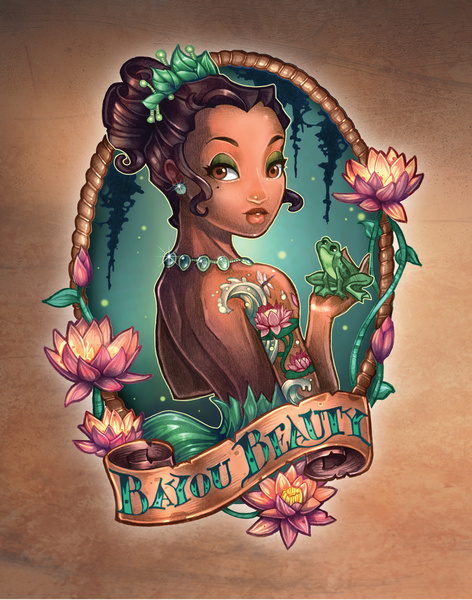Tim Shumate pin up tatoo