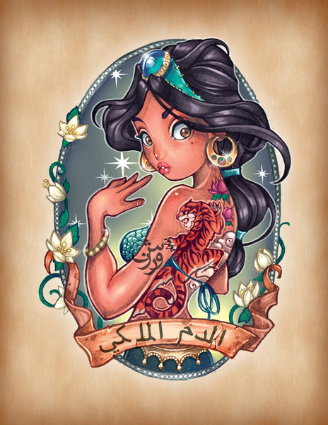 Tim Shumate pin up tatoo