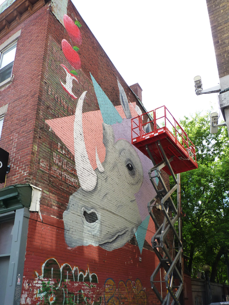 Mural Festival Fred Caron