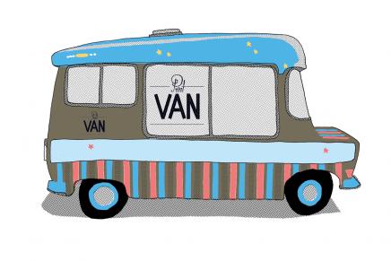 Print Van Paris : le camion de t-shirt sérigraphié