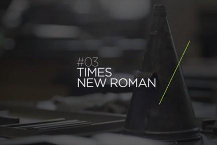 L'histoire de la police Times New Roman