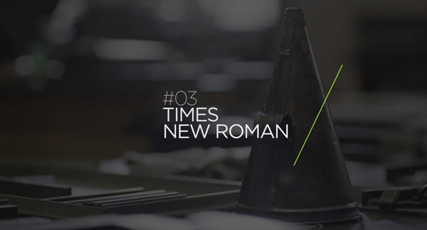Times new roman history