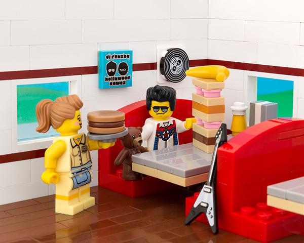 Lego Elvis Sandwich