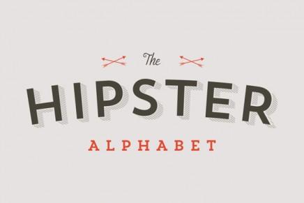 The hipster alphabet