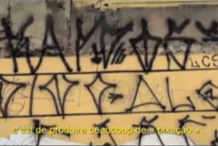 Pixo ou l'art urbain brésilien le pixacão