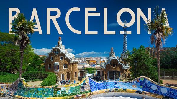 Barcelona Stop motion timelapse
