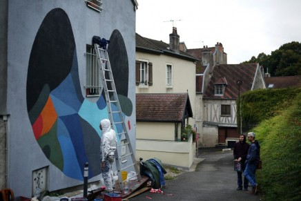 Techniques mixtes : interviews d'artistes pendant le festival Bien Urbain #3 à Besançon