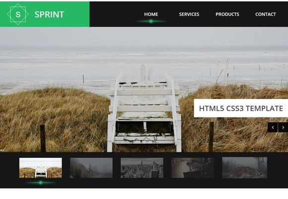 html-template-sprint
