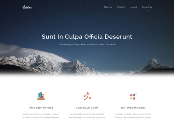 html-template-sublime