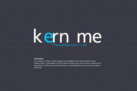 Des jeux pour améliorer ses connaissances en typographie