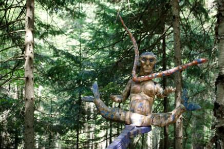 Quand les artistes s'invitent dans la fôret du Québec : les Jardins du Précambrien