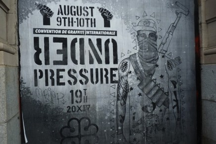 Under Pressure 2014 – Graffiti, Skate, Hip Hop et soleil