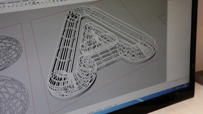 A23D: A 3D-Printed Letterpress Font