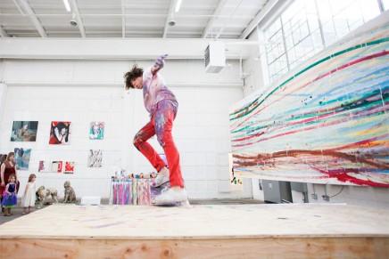 Matt Reilly : peinture et skateboard