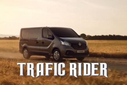 Renault #TraficRider – Les coulisses du tournage de la pub virale