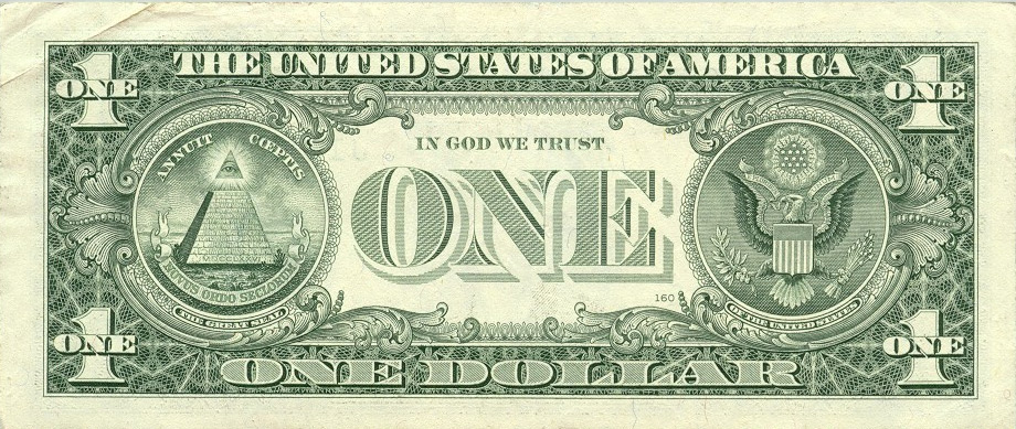 1 dollar us