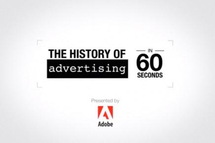 L'histoire de la publicité en 60 secondes