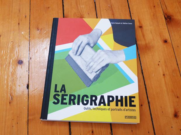Livre apprendre la sérigraphie