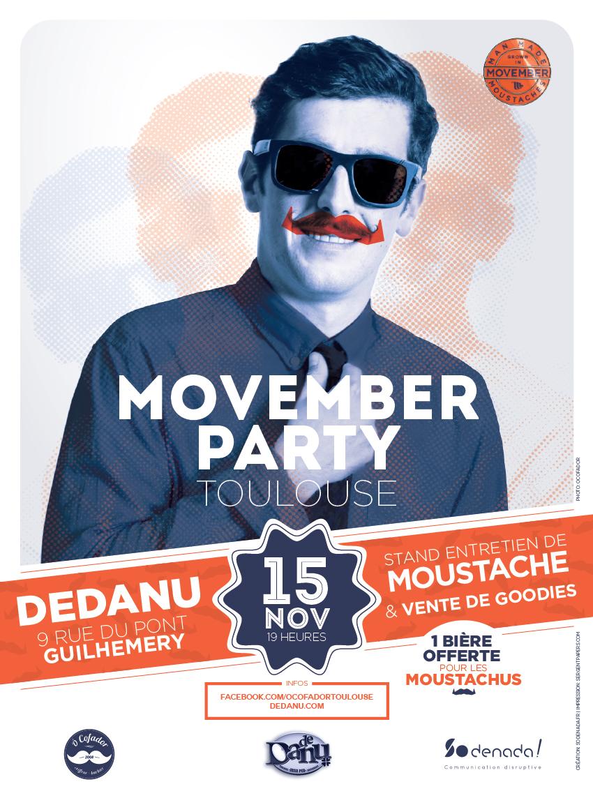 Movember Toulouse Dedanu