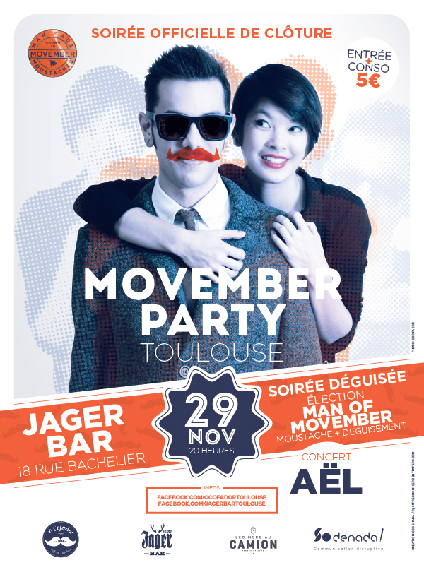 Movember Toulouse Jager Bar