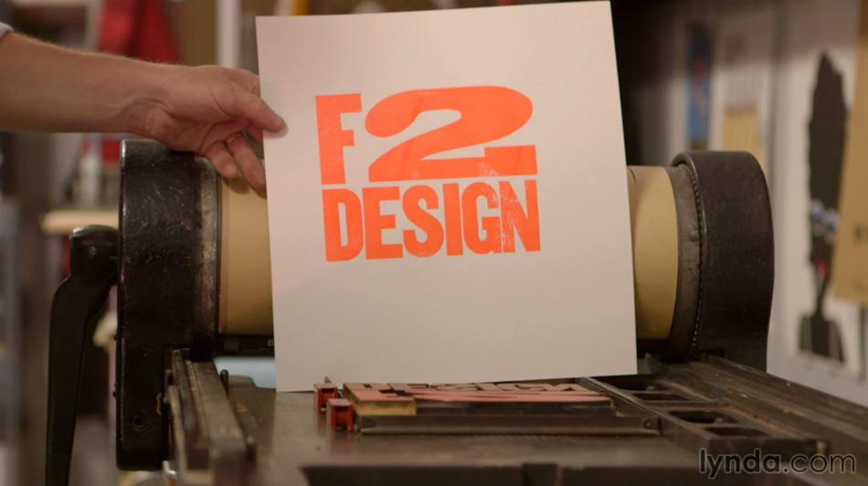 F2 Design: Letterpress Printing and Poster Design