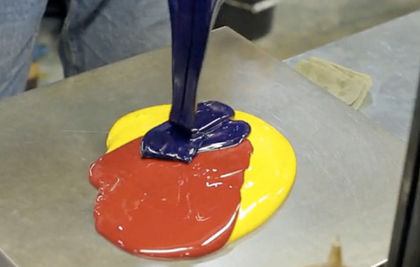 Fabrication de l'encre