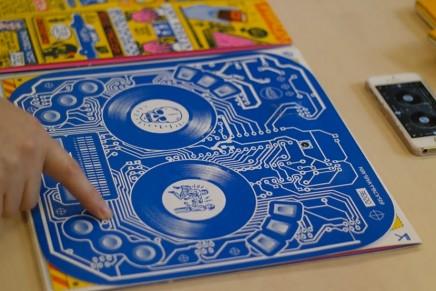 Une pochette de vinyle sur laquelle tu peux scratcher