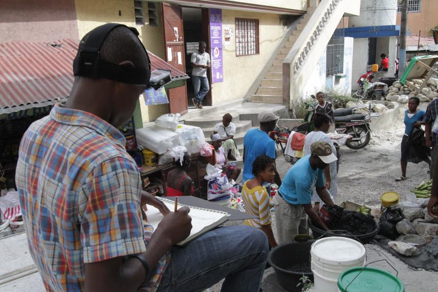 Casque Noir Haiti Tohu