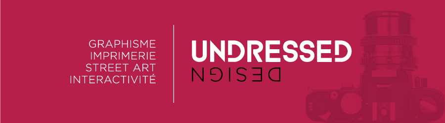 Undressed Design Nouvelle identite
