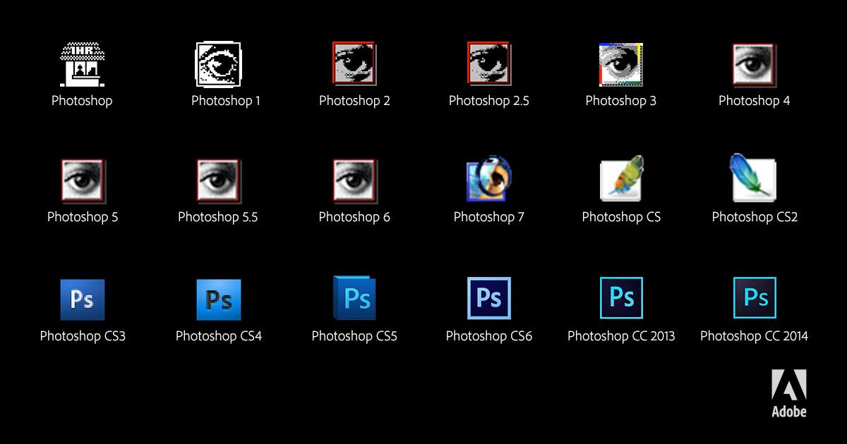 Adobe Photoshop 25 ans