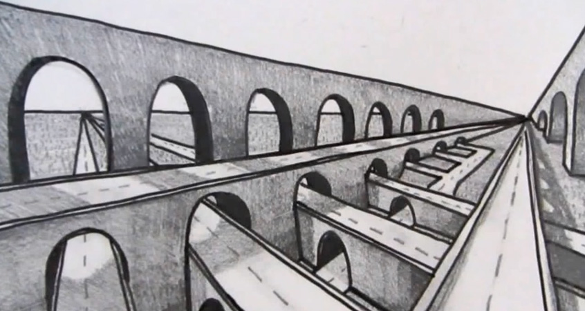 Line Art School : Apprendre à dessiner la perspective