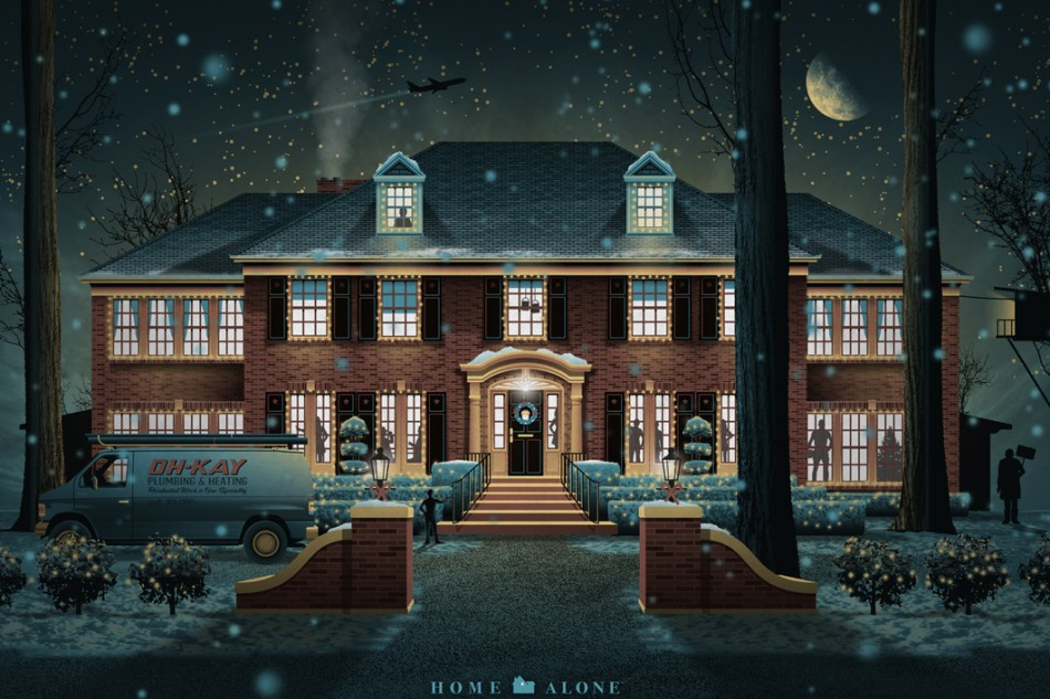DKNG home alone Poster