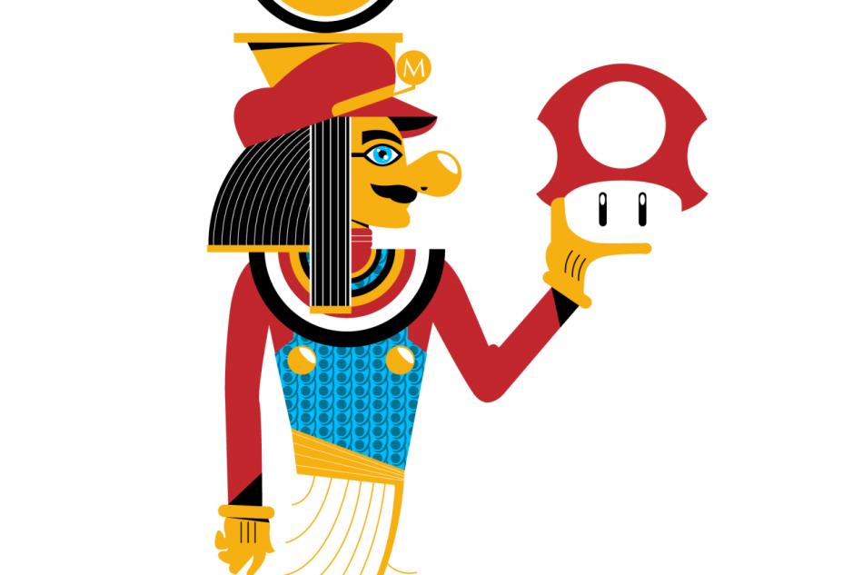 Pharapops Super Mario
